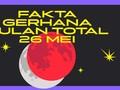 INFOGRAFIS: Fakta Gerhana Bulan Total 26 Mei