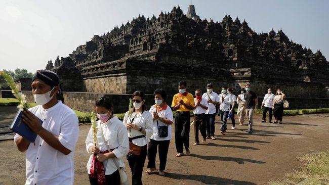 Menag Yaqut Cholil Qoumas ingin menjadikan Candi Borobudur sebagai pusat peribadatan umat Buddha seluruh dunia.
