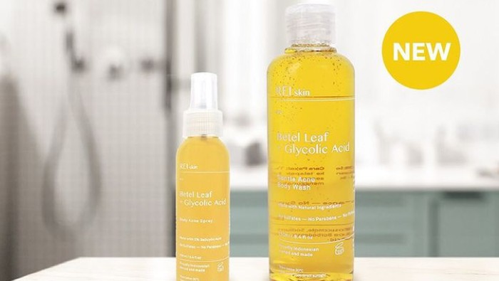 Essential Acne Body Care dari Rei Skin, Ucapkan Selamat Tinggal Pada Jerawat Badan
