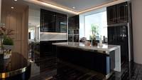 <p>Kalau ini tampilan dapurnya, Bunda. Tertarik jadikan ini inspirasi untuk desain di rumah sendiri? (Foto: YouTube: Boy William)</p>