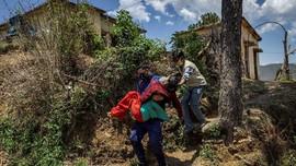FOTO: Covid di Himalaya, Kemiskinan dan Ketakutan