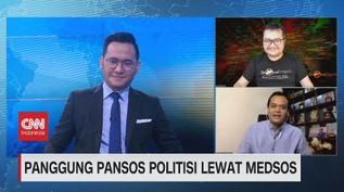 VIDEO: Panggung Pansos Politisi Lewat Medsos
