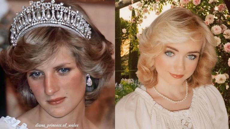 Rose Nora Anna mendadak viral karena parasnya mirip dengan Putri Diana. Yuk kita buktikan seberapa mirip!