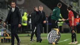 Cavani-Solskjaer Cekcok Saat Man Utd Kalah di Liga Europa