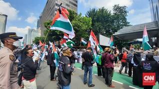 Aksi Buruh Bela Palestina Bubar, Donasi Terkumpul Rp21 Juta