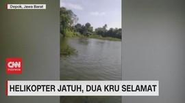 VIDEO: Helikopter Jatuh, Dua Kru Selamat