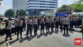 Aparat TNI-Polri Merapat Amankan Aksi Ruwatan KPK