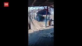 VIDEO: Gerhana Bulan Usai, Banjir Rob Genangi Lokasi Wisata