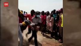 VIDEO: Lima Jenazah Korban Kapal Tenggelam Nigeria Dievakuasi