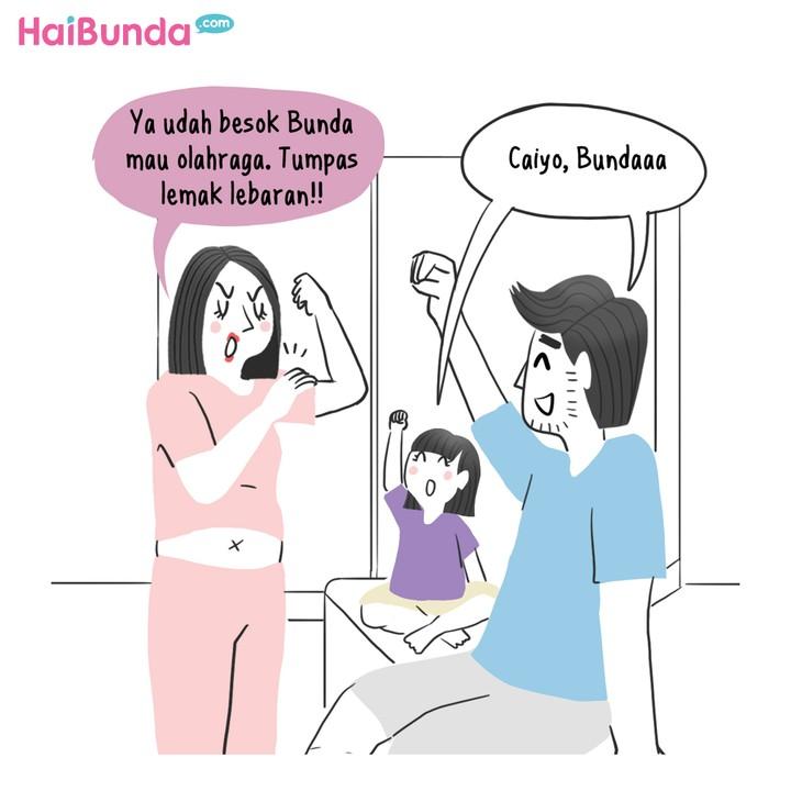 Komik Tumpas Lemak Lebaran