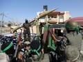 FOTO: Militer Hamas Pamer Roket Usai Gencatan Senjata