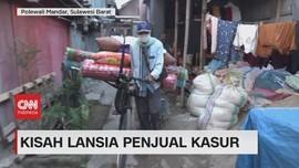 VIDEO: Kisah Lansia Penjual Kasur
