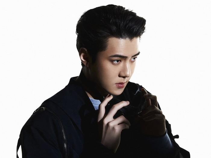 Sehun. Si maknae EXO yang makin hari makin tampan. Penggemar sudah tidak sabar ingin melihat rap dan tarian Sehun lagi / foto: twitter.com/weareoneEXO