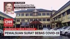 VIDEO: Lagi, Pemalsuan Surat Bebas Covid-19