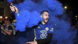 FOTO: London Berpesta Usai Chelsea Juara Liga Champions