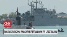 VIDEO: Polemik Rencana Anggaran Pertahanan Rp 1.700 Triliun