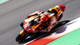 Terjatuh di MotoGP Italia, Marquez Langsung Ingat Dupasquier