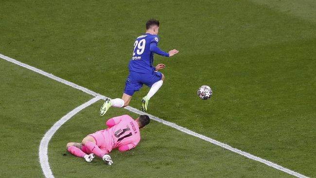 Kai Havertz menjadi pahlawan Chelsea saat menjuarai Liga Champions lewat gol penentu ke gawang Manchester City.