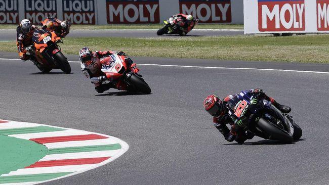 Balapan MotoGP Catalunya 2021 yang akan berlangsung Minggu (6/6), akan berlangsung lebih cepat daripada jadwal seri-seri sebelumnya.
