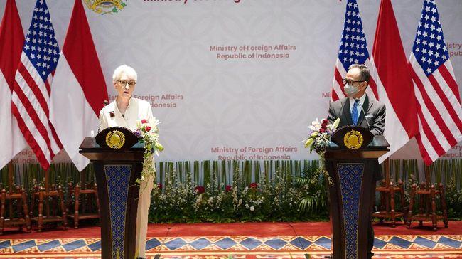 AS menyampaikan apresiasi terhadap Indonesia yang selama ini dianggapnya selama ini vokal mengangkat dan membantu penyelesaian krisis di Myanmar.
