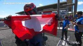 VIDEO: Selebrasi Quartararo Juara untuk Dupasquier