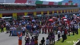 VIDEO: Penghormatan Terakhir Pembalap MotoGP untuk Dupasquier