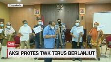 VIDEO: Aksi Protes TWK Terus Berlanjut