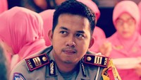 <p>Ega Prayudi merupakan seorang perwira polisi. Ia diangkat menjadi Kasatlantas Polres Magetan 1 pada Agustus 2019 lalu. (Foto: Instagram: @eghaprayudi)</p>