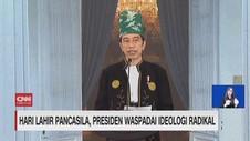 VIDEO: Hari Lahir Pancasila, Jokowi Waspadai Ideologi Radikal