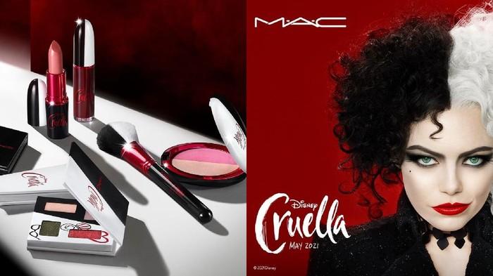 Limited Edition, Inilah Produk Kolaborasi MAC Cosmetics X Disney Cruella