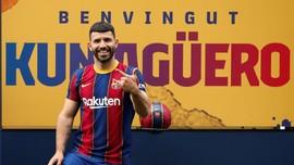 FOTO: Selamat Datang di Barcelona, Aguero!