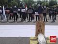 Mahasiswa IPB Demo Firli soal TWK: Rest In Peace KPK