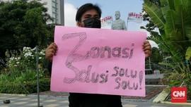 Pelajar Surabaya Demo Nadiem Minta Hapus PPDB Zonasi