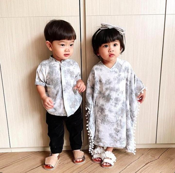 Anak Kembar Syahnaz Sadiqah
