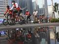 FOTO: Riuh Kayuh Sepeda di Kota