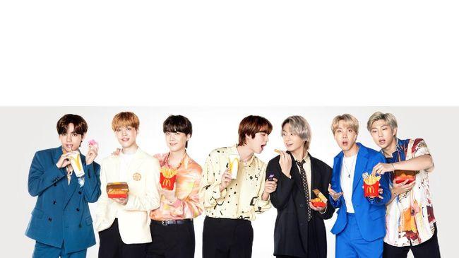 Menu spesial McDonald's yang berkolaborasi dengan boyband kenamaan BTS bakal tersedia di Indonesia mulai 9 Juni.