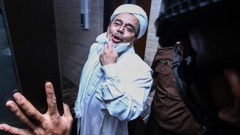 Rizieq ke Hakim: Sampai Jumpa di Pengadilan Akhirat