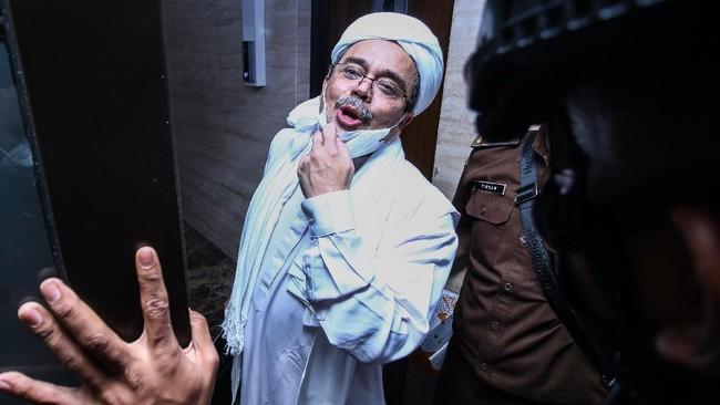 Rizieq Shihab Divonis 4 Tahun Penjara di Kasus Swab RS Ummi