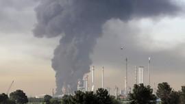 Kebakaran Kilang Cilacap Berhasil Dipadamkan