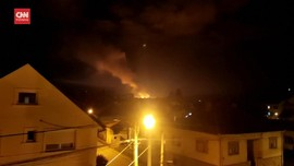 VIDEO: Ledakan Pabrik Amunisi Serbia, 60 Pekerja Dievakuasi