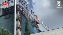 VIDEO: Hotel di Spanyol Terbakar, 200 Tamu Dievakuasi