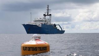 13 Alat Deteksi Baru Tsunami RI Baru Akan Terpasang 2024