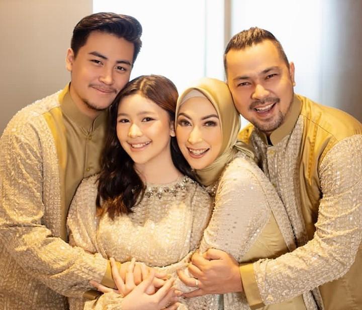 Keluarga Annisa Trihapsari dan Sultan Djorghi