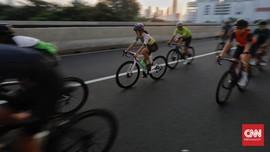 Respons Warga atas 'Karpet Merah' DKI Buat Pesepeda Road Bike