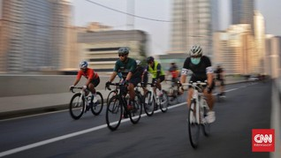Bike to Work Batal Gelar Aksi Protes Road Bike Lewat JLNT