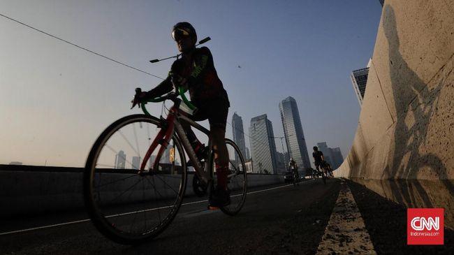 Kadin DKI Jakarta menyebut ada kemungkinan insentif kecil-kecilan bagi pekerja yang mengendarai sepeda ke kantor, seperti sarapan atau jus.