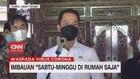 VIDEO: Imbauan Sabtu-Minggu di Rumah Saja