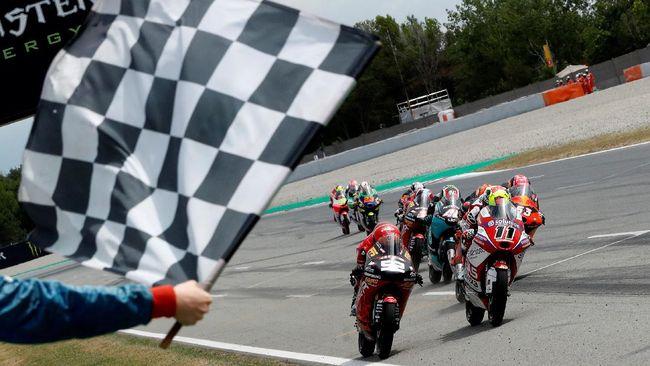 MotoGP Jerman 2021 bisa disaksikan secara live streaming melalui CNNIndonesia.com, Minggu (20/6). Tonton live streaming MotoGP Jerman 2021 di sini.