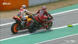 VIDEO: Miller Minta Uang ke Marquez di Kualifikasi MotoGP