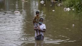 FOTO: Banjir Bandang Tewaskan 4 Orang di Sri Lanka